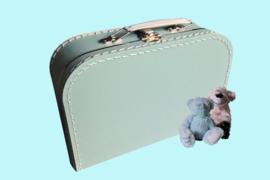 Koffertje mintgroen
