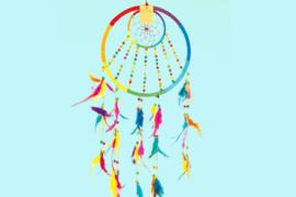 Dromenvanger Regenboog fairtrade 27 cm