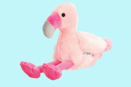 Keel Toys Pippins roze flamingo 14 cm