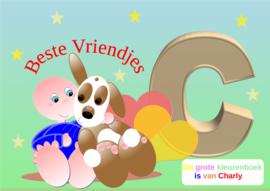 Kleurboek peuter - gepersonaliseerd - C - Beste Vriendjes