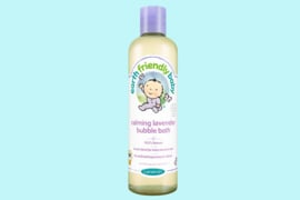 Earth Friendly Baby  baby biologische badbubbels lavendel