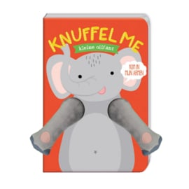 Vingerpop knuffelboek Kleine olifant - Image Group Holland