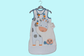 Rock a bye baby babyslaapzak met applicatie giraffe