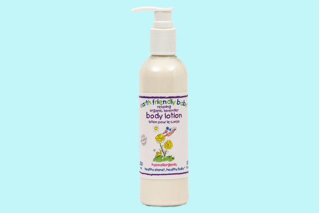 Earth Friendly Baby  baby biologische bodylotion lavendel