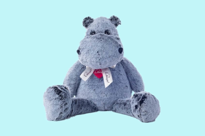 Lumpin Oskar de Hippo large 40cm