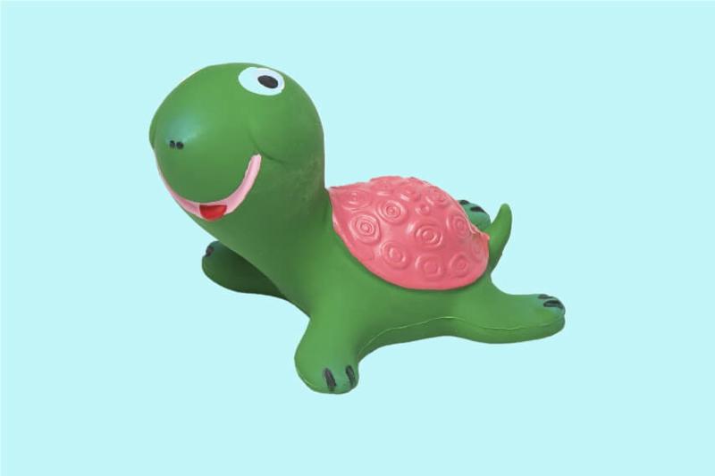 Lanco - Sensory Rubberen Schildpad Groen