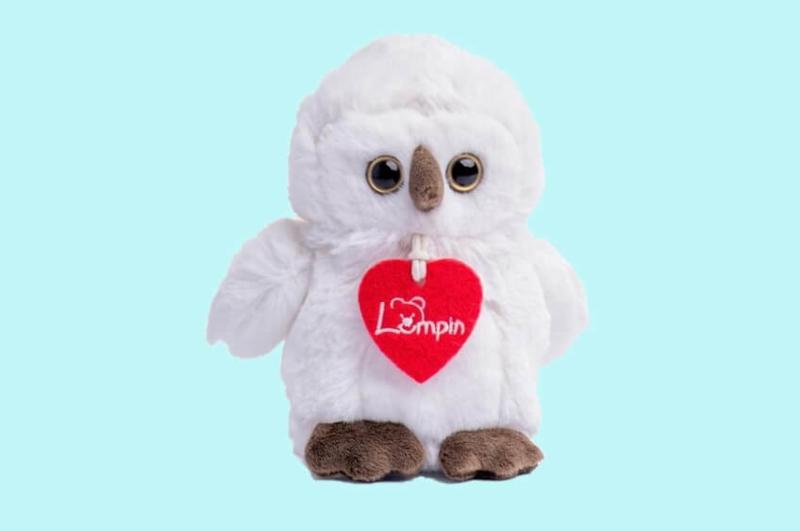 Lumpin Merlin White Owl 15cm