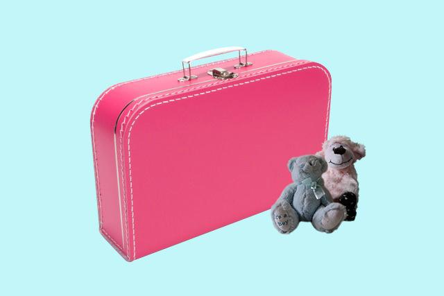 Koffertje fuchsiaroze