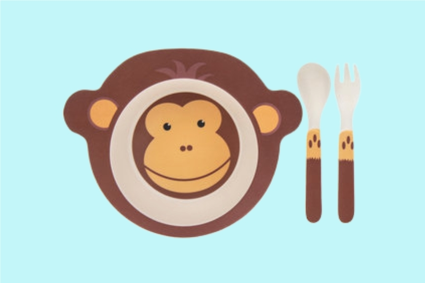 Bamboe kinderservies_blog Beste Vriendjes_oktober_korting lekkersmullen