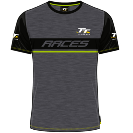 Isle of Man TT T-Shirt zwart/grijs