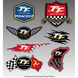 2019 - Isle of Man Sticker Set