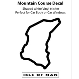 TT Course decal sticker