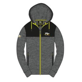 Isle of Man TT hoodie grijs/zwart