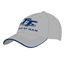 Grijze pet met blauw TT logo