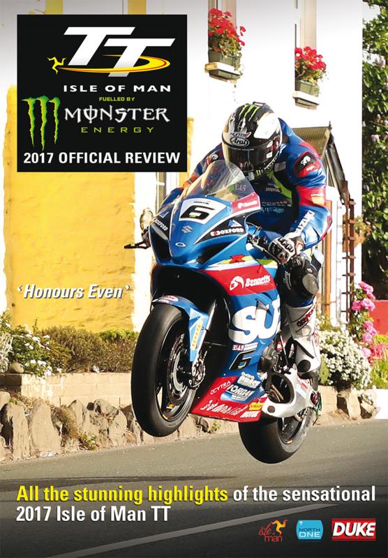 TT Isle of Man 2017 review DVD