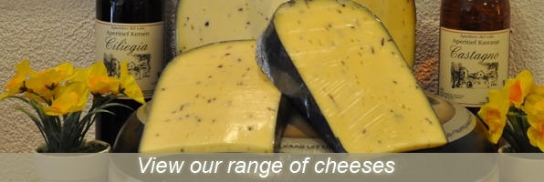 View our range of cheeses