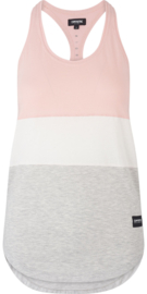 Creek Singlet Dawn Pink