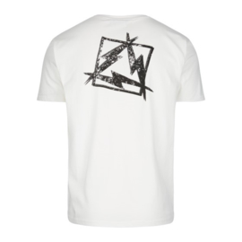 High Voltage Tee White