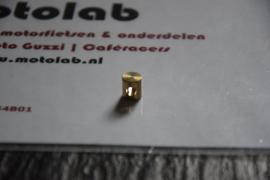 Verloop nippel Ø8x9 | 21A | rem | koppeling kabel