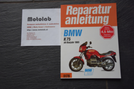 BMW K-75 Reparatur anleitung Bucheli