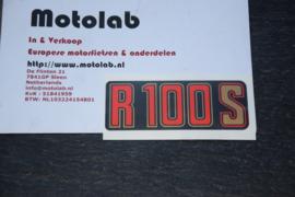 BMW R2V 100S Rood/Zilver OEM 51141240008