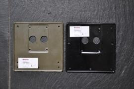 Nummerplaathouder MG Grote& Kleine modellen