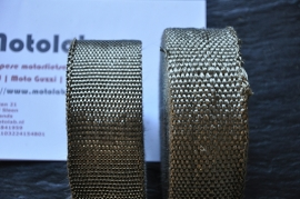 "Exhaust Wrap | Uitlaat Tape ""Titanium"" LET OP!!"