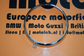 Koplamp ring BMW R25 t/m R69 & DKW Chroom OEM 63128050128