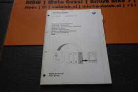 BMW Motorrad ORIGINEEL Electrische Schema's R1150 RS OEM 01990139362