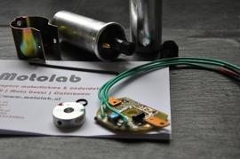 Electronische onsteking SET tbv Moto Guzzi met S311B distr (gr. Mod)