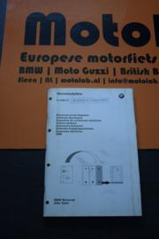 BMW Motorrad ORIGINEEL Electrische Schema's K 1200 LT OEM 01990028839