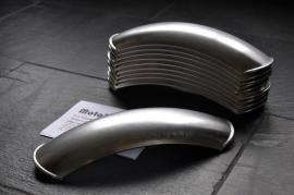 Kort ALU scrambler spatbord 105mm o.a. BMW R2V | Honda
