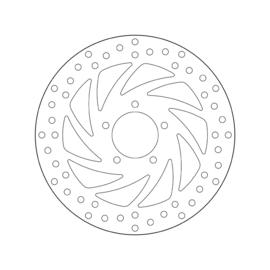 Remschijf Aprillia Brembo Oro 68B407B0