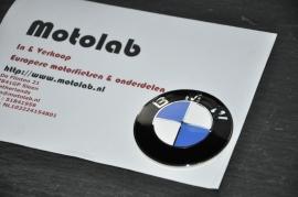 Tank Embleem BMW 70mm OEM 16111232908 = Emaille !!