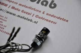 Nummerplaat verlichting Zwart LED 12mm M8