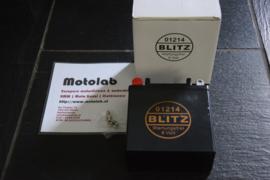 Accu Blitz 01214 BMW R2V 6V12Ah GEL/onderhouds vrij  o.a.  R50 R60/2
