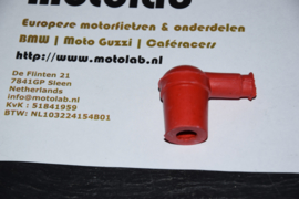 "Bougiedop ""rubber"" ROOD  (Tbv contactpunt & Magneet onst.)"