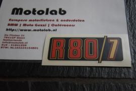 BMW R2V 80/7 Rood/goud OEM 51141240006