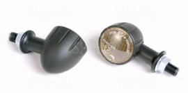 Richting aanwijzer SET Bullet Zwart /Smoke
