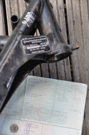 BMW R100GS 247 E | Rahmen 6336233R100GS = 06/1990 | DE Brief