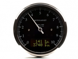 Motogadget Chronoclassic 10 DarkEdition (dark LCD)