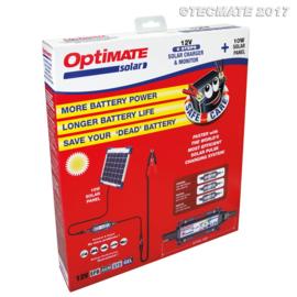 Tecmate Optimate Solar 0,83A (3-5 A pulse) with 10W panel