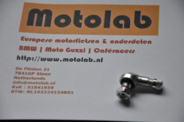 Ventiel HAAKS ALU 8,3mm gepolijst Tubeless velgen o.a. BMW GS R kruisspaak