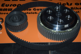 BSA Gold Star & B31 B32 B33 B34 NEB | N.E.B. Belt Drive koppeling | Clutch KIT Complete