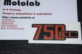 BMW R2V 750CC Rood/Goud  46631236082