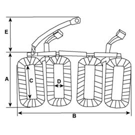 Veldwikkeling Bosch startmotor BMW R2V
