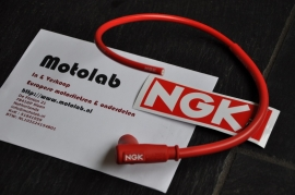 Bougiedop NGK CR2 Race incl 50cm siliconen kabel