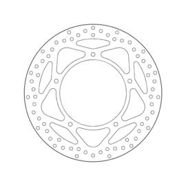 Remschijf Aprillia Brembo Oro 68B407F5