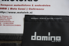 "Domino | Tommaselli Grip cover SET ""Remove before flight!!!"""
