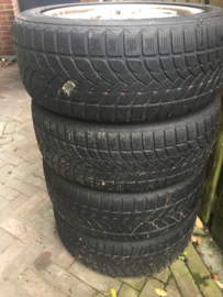 "Velgen set  16"" passend op Saab (& Opel?) tbv winterbanden oid"